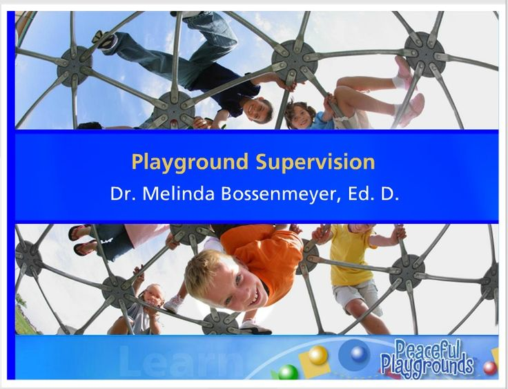 58 best playground supervision images on pinterest playgrounds playground supervisor online course and certification school staff fandeluxe Gallery