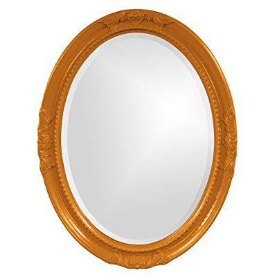 Save 88%- Howard Elliott Collection 40101O Queen Ann Mirror, Orange