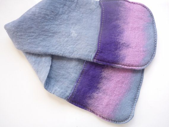 Hand felted Oven Mitts extra long and extra wide by ChrysArtGlass