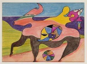 Alice Rahon | Pintor | Valor, precios y resultados de las obras