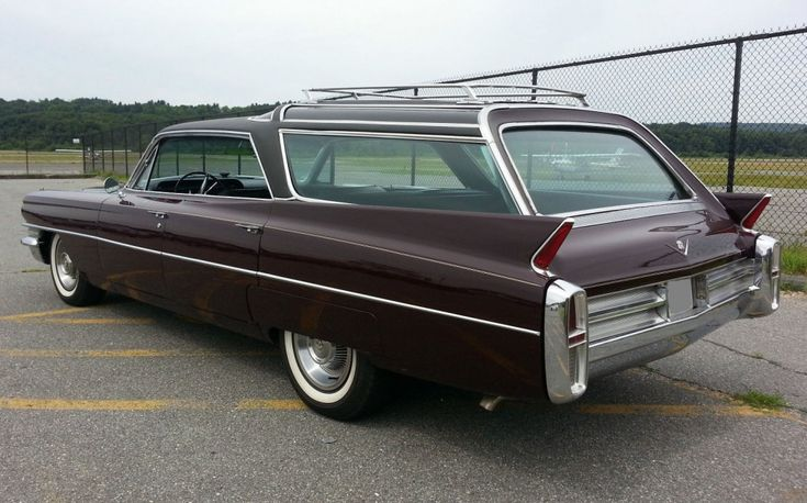 1963 Cadillac Vista-Cruiser Station Wagon