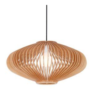 Keiko Wood Pendant Light