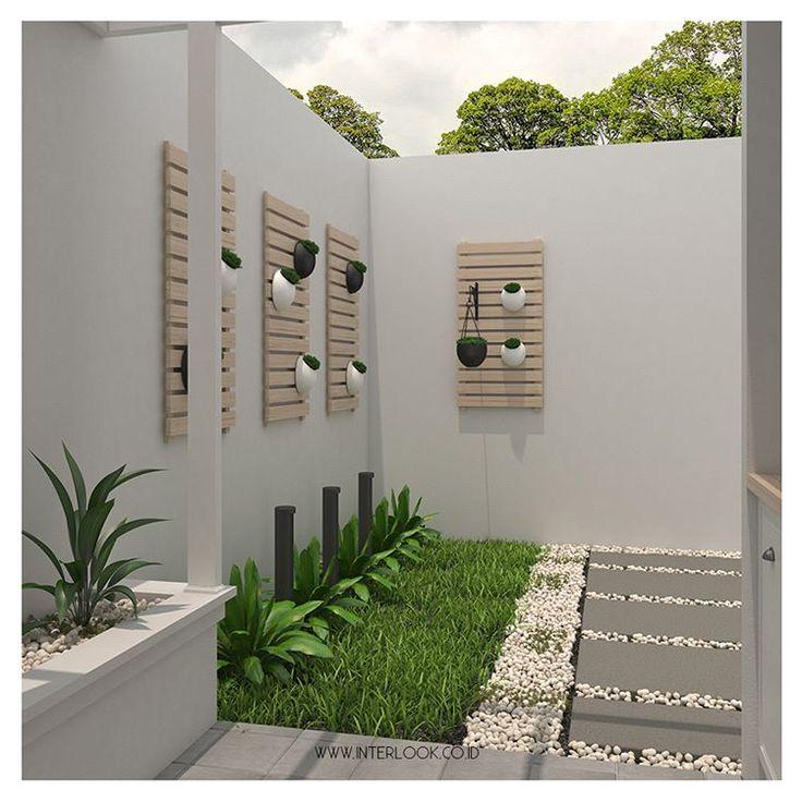"""1,940 Likes, 28 Comments - Home and Interior Custom (@interlook.co.id) on Instagram: """"Bagian belakang rumah yang terbuka dengan nuansa hijau tumbuhan akan membuat area rumah menjadi…"""""""
