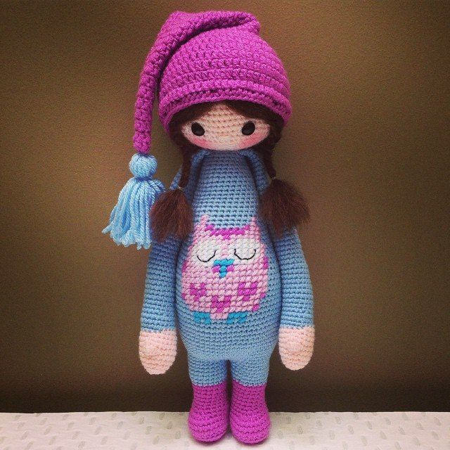 Free Crochet Pattern For Pot Holder Doll : owl Lalilala doll Crochet Lalylala Pinterest Dolls ...