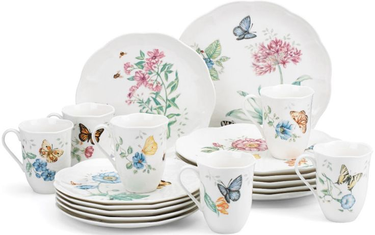 18-Piece Porcelain Casual Dinnerware Set Serving Dishes Kitchen Tableware New #DinnerwareSet
