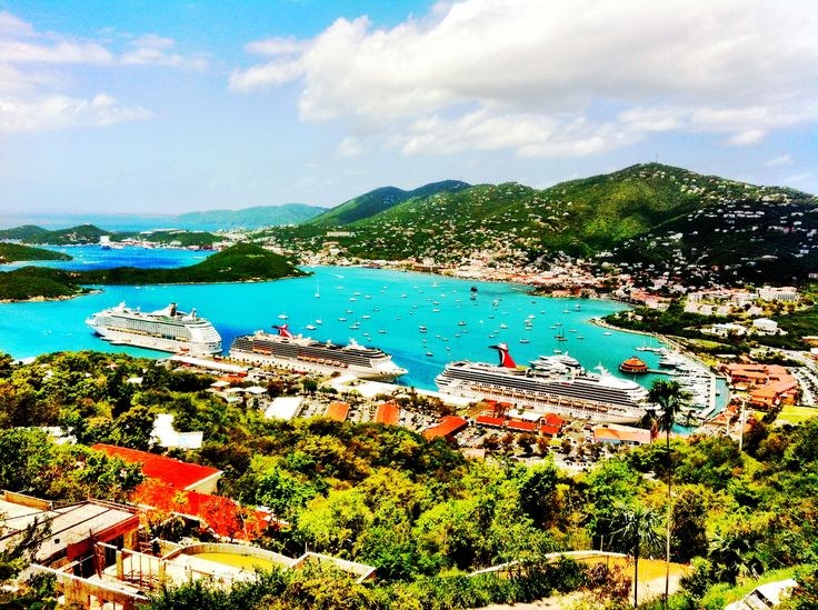 The best view on the entire island of St. Thomas! Paradise Point! Been here! Beautiful!