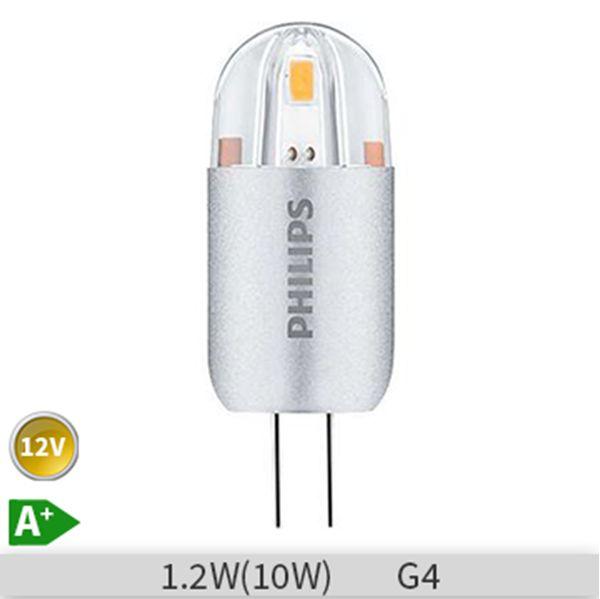 Bec LED Philips capsula CorePro capsuleLV 1.2-10W 830 G4, 871869642228100 http://www.etbm.ro/becuri-led