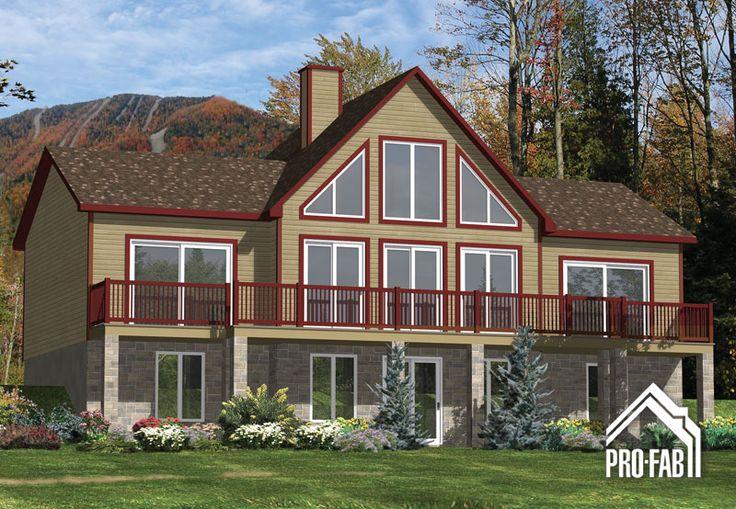 Pro fab constructeur de maisons modulaires usin es pr fabriqu es mod le jaseur maison - Constructeur maison modulaire ...