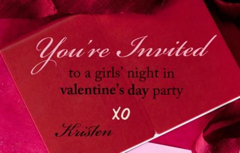 valentine night party flyer