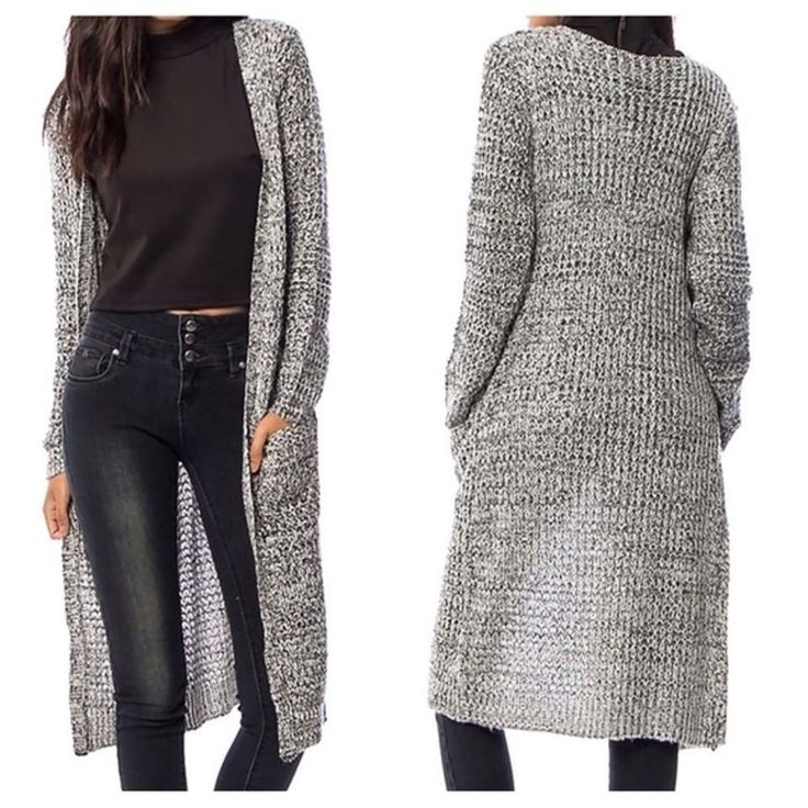 "SOUTHERN GIRL FASHION $60 ""Maxi Cardigan Long Draped Sweater"" - Sizes S M L XL #Boutique #Cardigan #Casual"