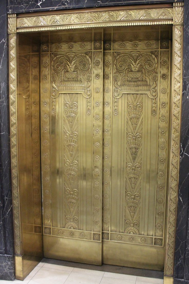 Canada Trust elevator. London Ontario  | Natalie Servant Designs