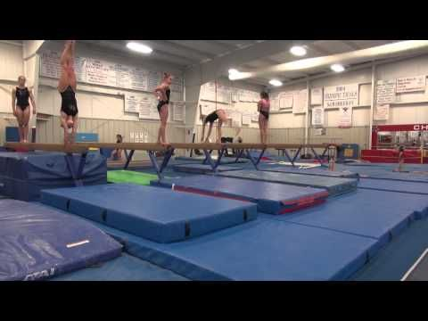 Workout All Access: Cincinnati Gymnastics Level 10's - YouTube