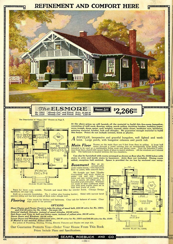 Awesome Sears Roebuck House Plans Gallery - 3D house designs ...
