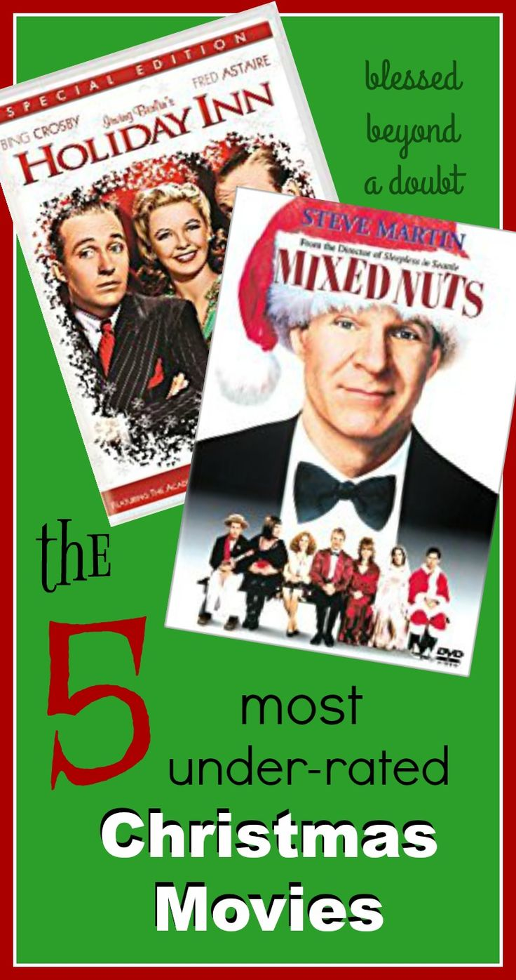 Plan a movie night or simply curl up with a cozy blanket and egg nog and laugh your head off with the 5 most underrated Christmas movies.