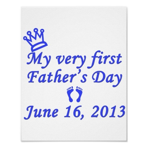 First Father's Day 2013