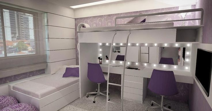 Beliche com escrivaninha: 60 ideias criativas para economizar espaço