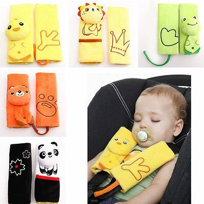 Fashion car seat safety baby kids belt strap #cover pad #cushion shoulder #holder, View more on the LINK: http://www.zeppy.io/product/gb/2/162214145530/