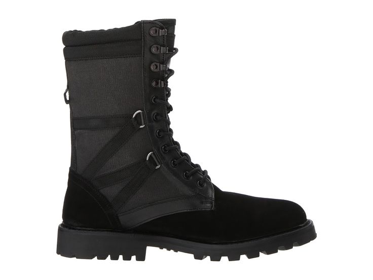 Michael Bastian Gray Label Combat Ultra Force Boot Men's Boots Black