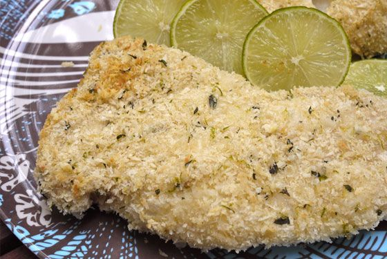 Coconut Crusted Fish Recipe — Dishmaps