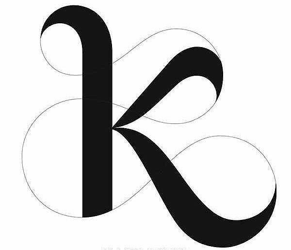 Letter K Calligraphy Altin Northeastfitness Co