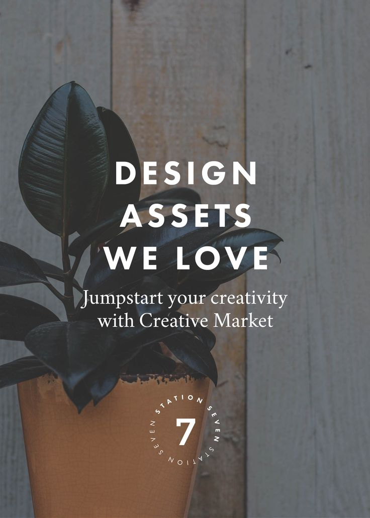 5 Creative Market Design Assets We Love. Jumpstart your designs with fonts, photoshop brushes, patterns, templates, and mockup kits.