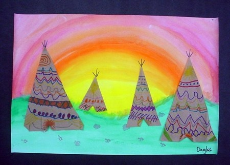 teepee landscapes