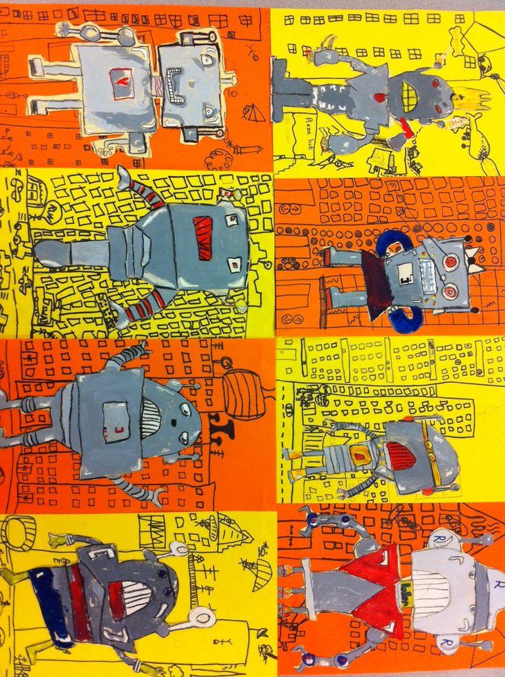3rd grade robots!