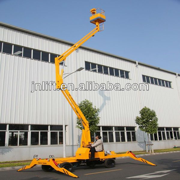 "articulated boom lift for sale  1High-quality structural steel  2Aerial working platform  3Lifting height""6-13m"