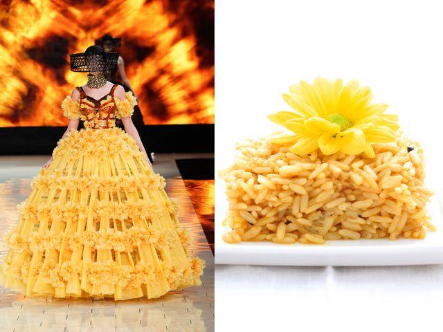 Alexander McQueen ss 2013 / Curry rice