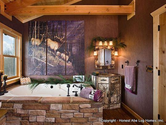 47 Best Log Home Bathrooms Images On Pinterest | Log Home Bathrooms, Bathroom  Ideas And Dream Bathrooms
