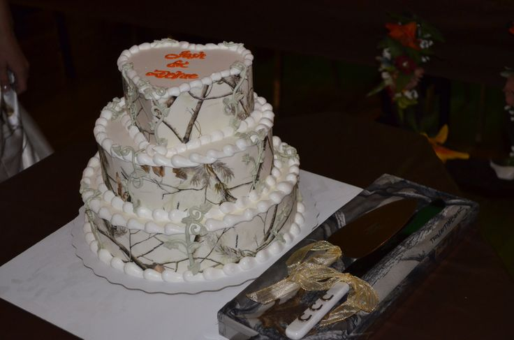 Camo Dairy Queen wedding cake  Photography  Camo