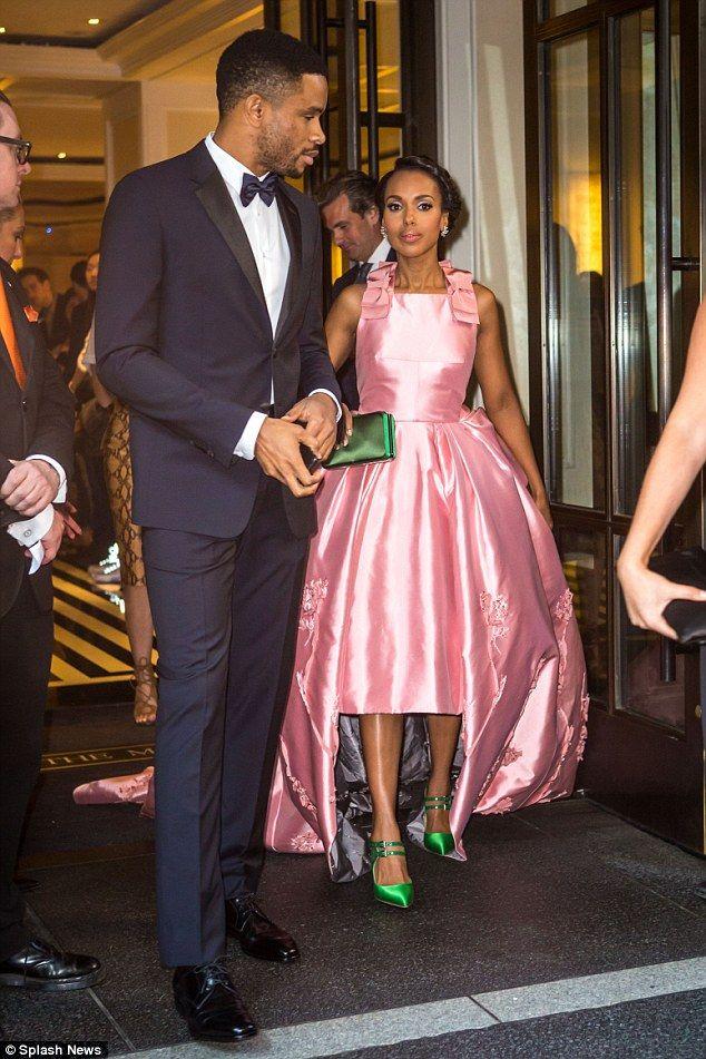 Kerry Washington Makes Rare Appearance With Husband Nnamdi