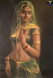 indian canvas painting
