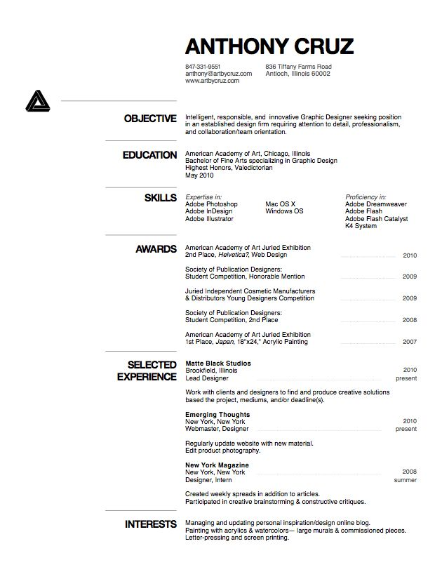 17 best Clean Resumes images on Pinterest Cv design, Resume cv - how does a resume look like