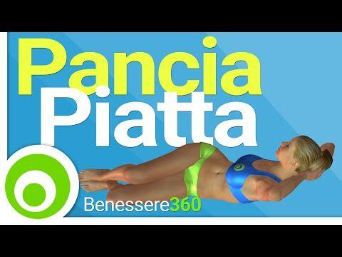 Pancia Piatta in 10 Minuti. Esercizi per Dimagrire la Pancia - YouTube