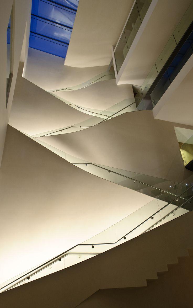 Ashmolean Museum - Atrium View - Lighting Design by KSLD www.ksld.com