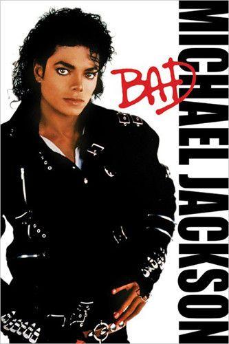 Michael Jackson: Bad Unknown Fine Art Print Poster