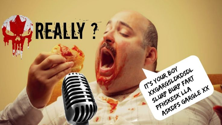 Eating & Drinking When Commentating - Cut That Crap Out