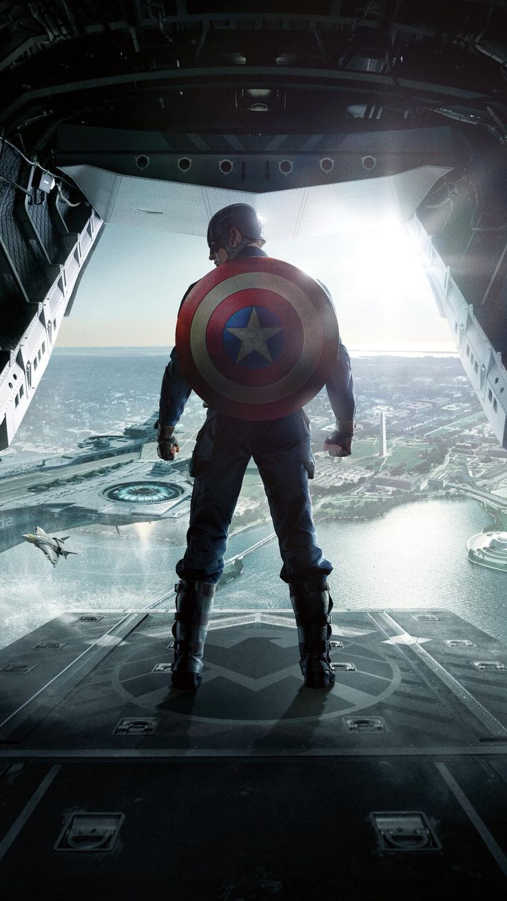 Captain America: The Winter Soldier (2014) Phone Wallpaper