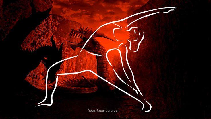 Das Helden-Yoga Dreieck bringt dich in innige Verbindung mit dir Selbst - Helden-Yoga ist Yoga, das dich richtig stark macht. Dein Selbstbewusstsein wird gestärkt, und du stellst dich deinen Ängsten. Du packst das an, was jetzt ansteht, ohne zurückzuschrecken. Heldenmut wird gefördert. Das ist deutlich spürbar.