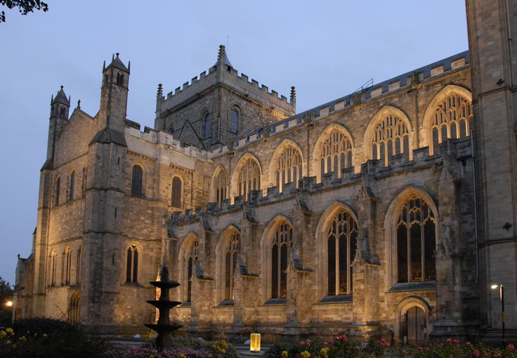 Light + Design - Ripon Cathedral Exterior Facade