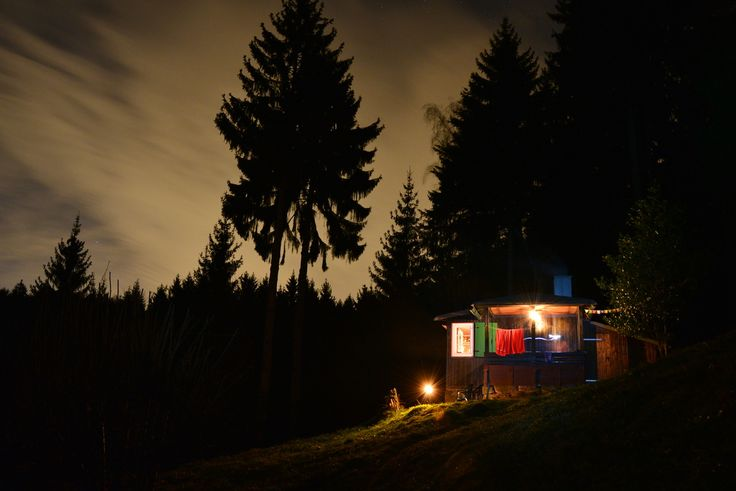 80-year-old cabin in the Northern Black Forest, Germany. Photograph by Joachim Klemm.