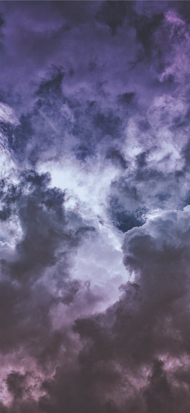 Wisteria Clouds Iphone X Wallpapers Clouds Wallpaper Iphone