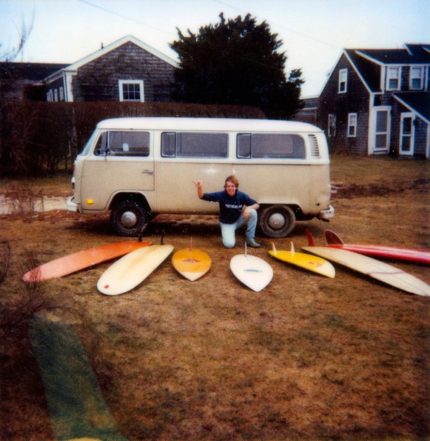 Surf's up! Siasconset, MA, 1981