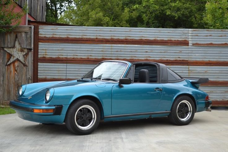 1976 Porsche 911 S Targa With 3.0L SC Engine