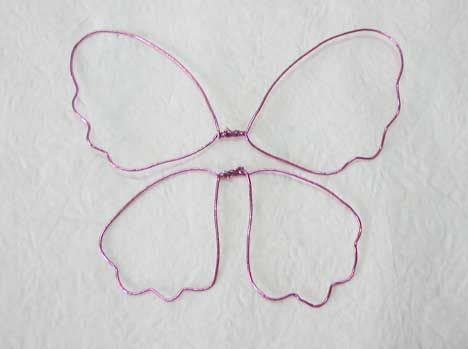 Handmade Nylon Stocking Butterfly Instruction from New Sheer Creations