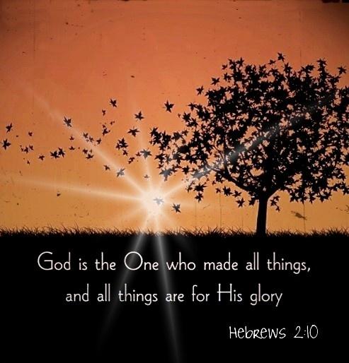 Hebrews 2:10
