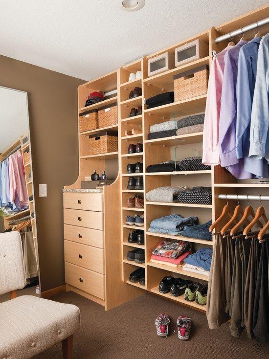 Fantastic Wooden Classical Walk In Closet Design Ideas.for Boys Room