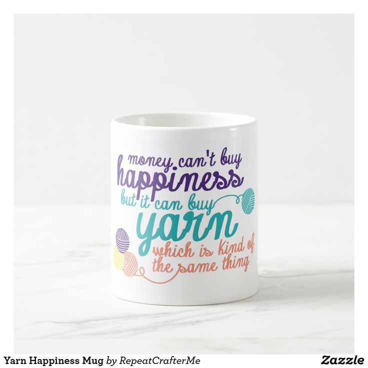 Yarn Happiness Mug Yarn Happiness Mug