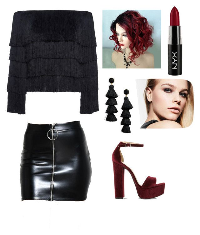 """""""Untitled #151"""" by denisapurple on Polyvore featuring A.L.C., Steve Madden, BaubleBar and NYX"""